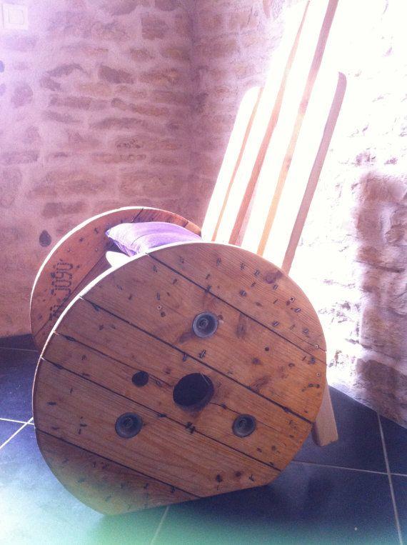 Chaise touret par AtelierPalEntete sur Etsy