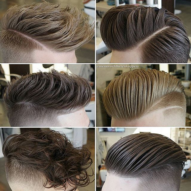 Left : Messy Right : Slick Product : @hairbond #MensHair