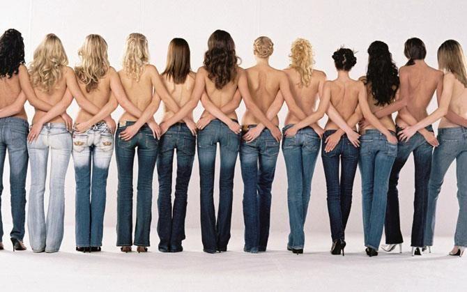 Подобрать американские джинсы по фигуре