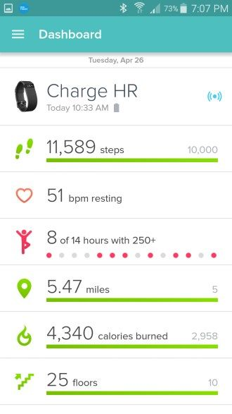 New Fitbit Features on Android and iPhone. Lots of great new stuff