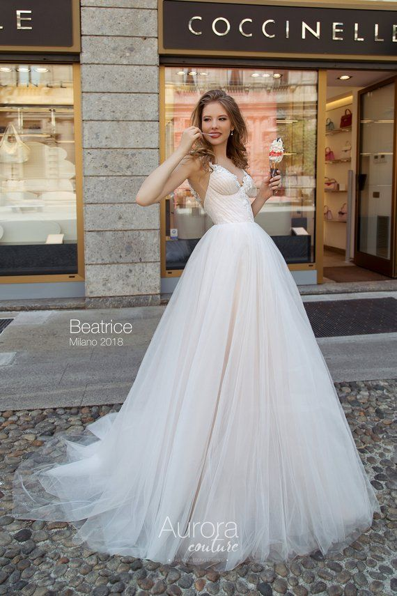 Etsy Wedding Dress.Wedding Dress Beatrice Wedding Dresses Wedding Dress Lace
