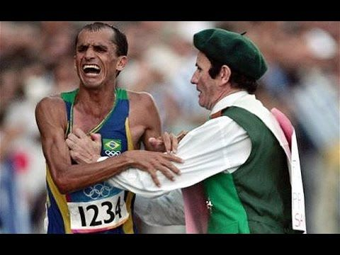 Here's The Inspiring Story Behind The Guy Who Lit The Rio Olympic Flame Brazilian marathon runner Vanderlei Cordeiro de Lima won a bronze medal at the 2004 A...