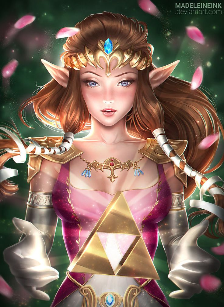 Zelda - Twilight Princess by MadeleineInk