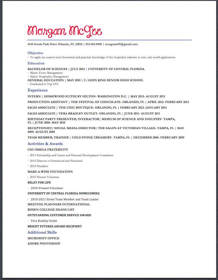 event management cv - Selo.l-ink.co