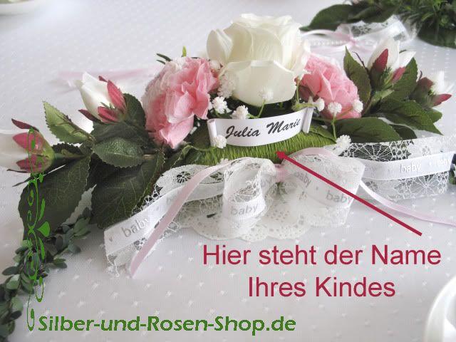 17 best images about baby taufe deko namensgebung begr ungsfest rosa babyshower pink on. Black Bedroom Furniture Sets. Home Design Ideas