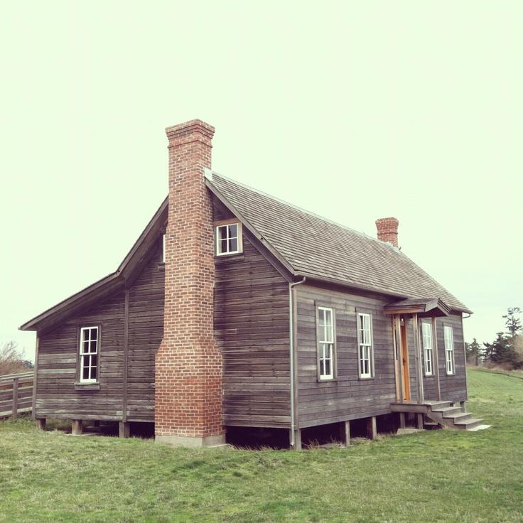 Historic House, Whidbey Island, Washington