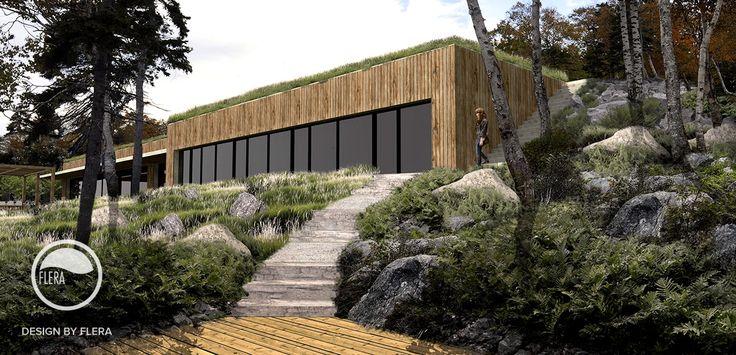 #landscape #architecture #garden #stairs #path #forrest