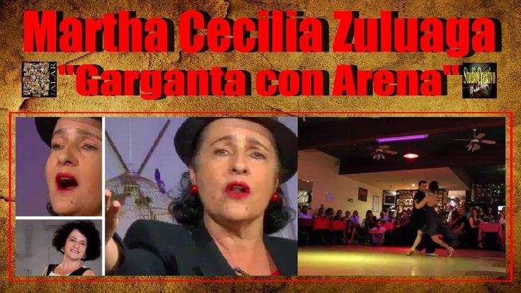 GARGANTA CON ARENA - MARTHA CECILIA ZULUAGA - JOSÉ HALFON Y VIRGINIA CUTILLO