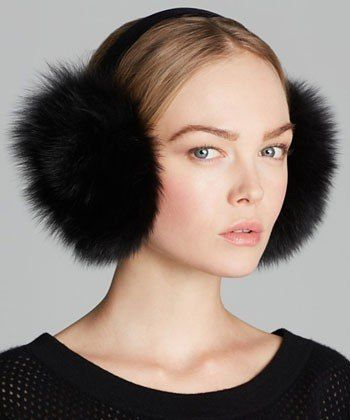 This Winter, Let Earmuffs Be Your Super-Warming Secret Weapon **crochet inspiration - funny how my daughter suggested i do this for crochet earmuffs and now i see these are back in style - lol!**