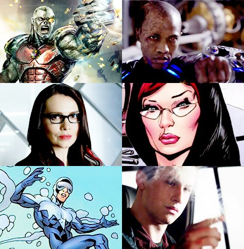 Agents of SHIELD show vs comics characters