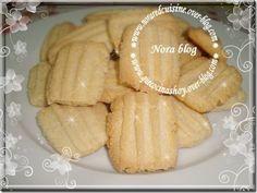 Cocina con Nora (cocina marroquí): Galletas con aroma de agua de azahar