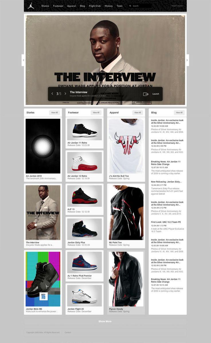 website design clean