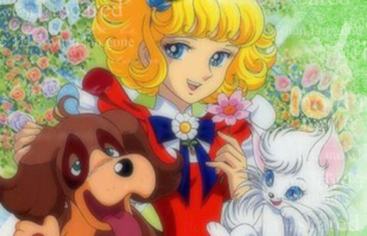 Angel la nina de las flores.....who remember the dog and cats true identity?