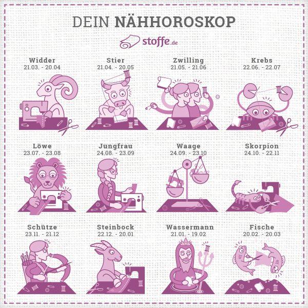 28 best stoffe.de ✂ Horoskope images on Pinterest | Horoscopes ...