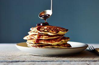 Crisp and Tender Almond Flour Pancakes Recipe on Food52 recipe on Food52