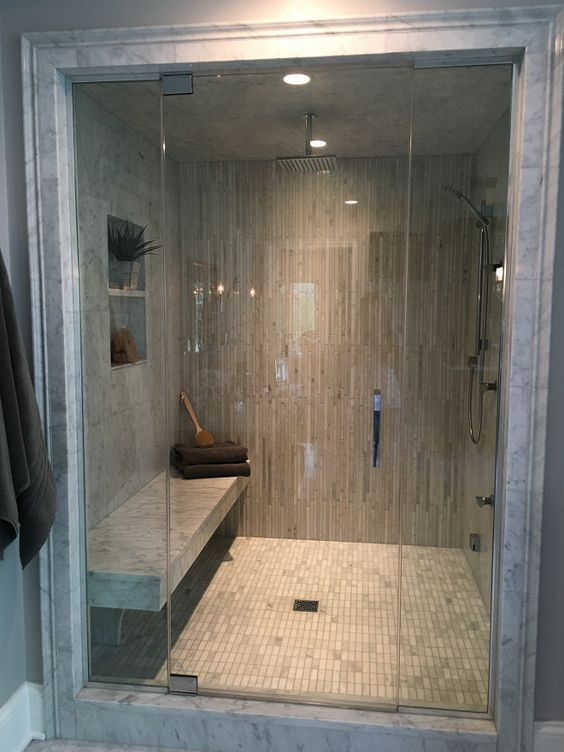 25 fresh steam shower bathroom designs trends