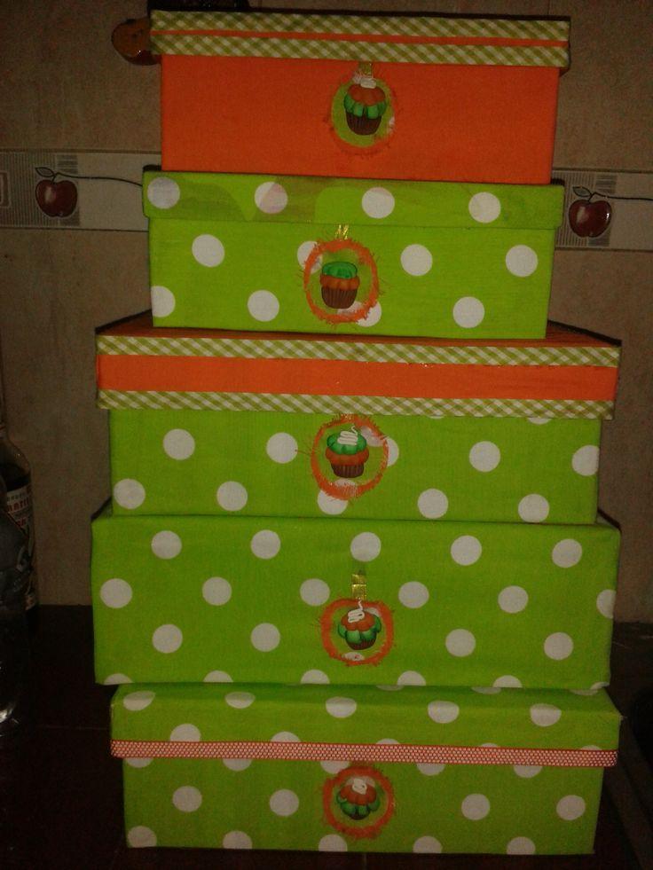 20 best reciclaje cajas de madera y carton images on - Cajas de zapatos decoradas ...