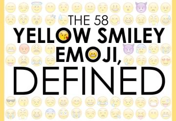 The 58 Yellow Smiley Emoji, Defined