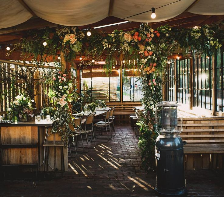 """Destination Wedding Duo on Instagram: """"- The Farm Cafe (@farmcafeweddings) at the Collingwood Children's Farm - all dressed up and ready for a delicious night. One of our favourite Melbourne venues. Gorgeous floral installations by @looseleaf__. More from Sharon + Darren's day coming soon to the @lucyspartalis blog. #collingwoodchildrensfarmwedding #shetakespictureshemakesfilms #weddingstyling"""""""