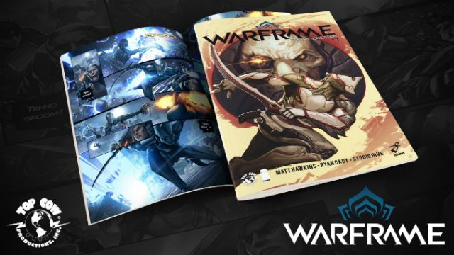 Digital Extremes and Top Cow team up for new Warframe comic series Like video games? Like comics? You'll probably like the news that Digital Extremes and Top Cow have teamed up for a new comic series.  http://www.thexboxhub.com/digital-extremes-top-cow-team-new-warframe-comic-series/