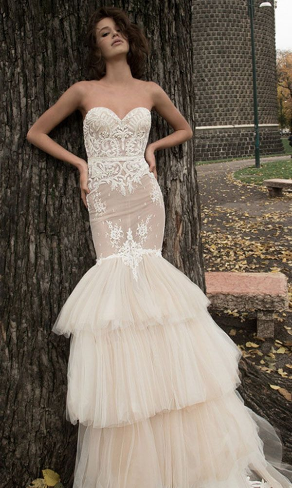 Wedding Dresses That Are So Sexy ❤ See more: http://www.weddingforward.com/sexy-wedding-dresses-ideas/ #weddings