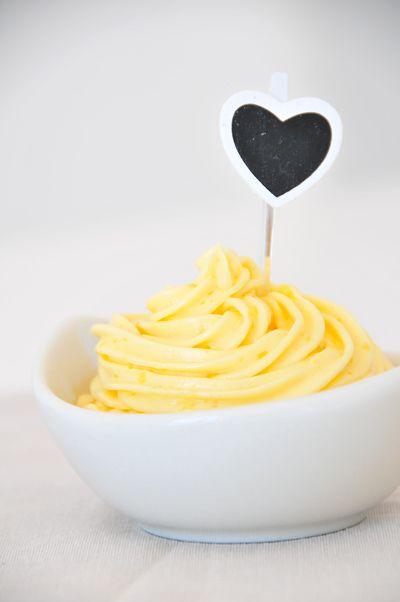 Vanillecreme für Kuchen und Muffins vegan & fructosearm bei www.pures-geniessen.com