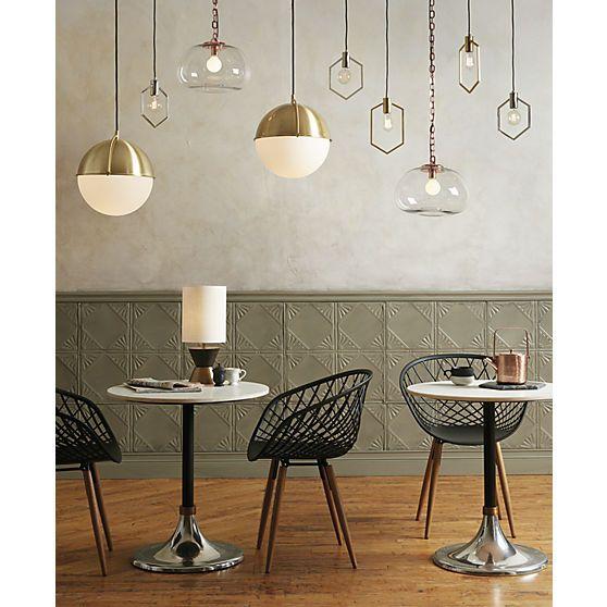 73 best lighting images on pinterest chandelier lighting cb2 globe pendant light aloadofball Choice Image