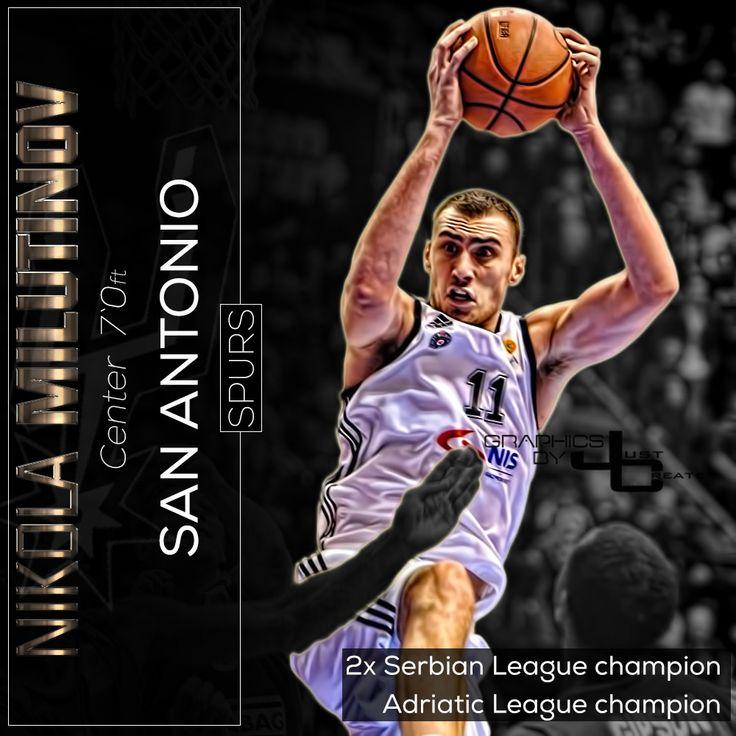 Nikola Milutinov graphics by justcreate Sports Edits