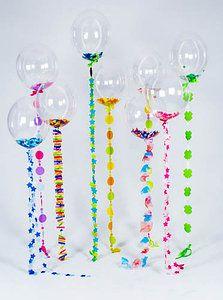 Confetti Balloons - Cute!