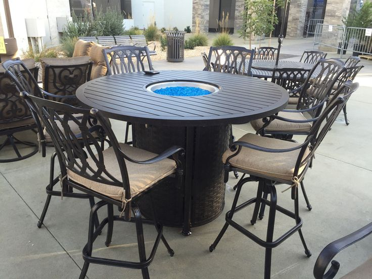 The 25 best Bar height patio set ideas on Pinterest Patio table