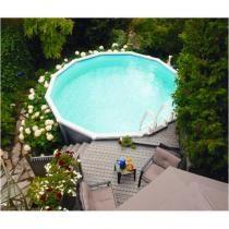 Les 25 meilleures id es de la cat gorie piscine hors sol for Piscine enterrable acier