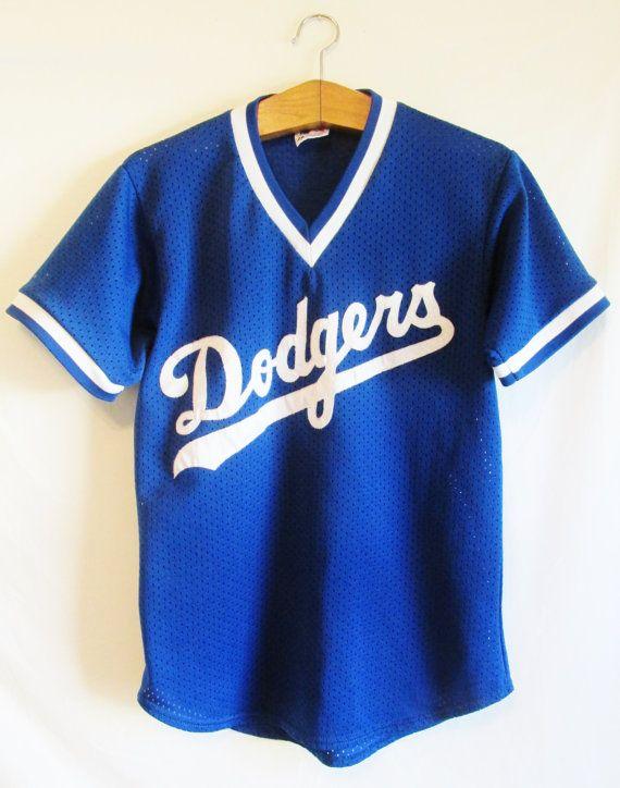 Vintage Los Angeles Dodgers Jersey Shirt by FreshtoDeathVintage, $26.00