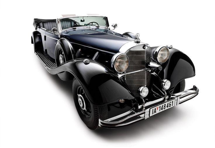 Clarín HD - NADIE QUIERE EL AUTO DE HITLER. Es un Mercedes...W 150 770K OFFENER TORERWAGEN