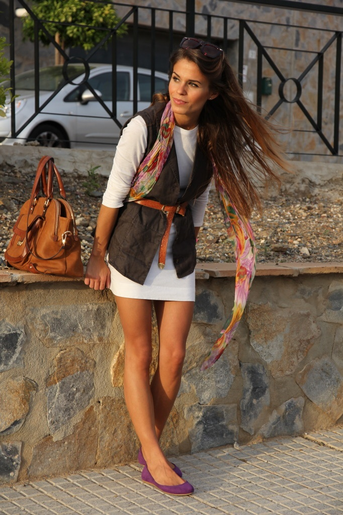Super Cute Outfit.Summer Dresses, Belts Vest, Sweaters Dresses, Cute Outfits, Super Cute, Fashion Inspiration, Fall Outfit, Travel Style, White Dresses