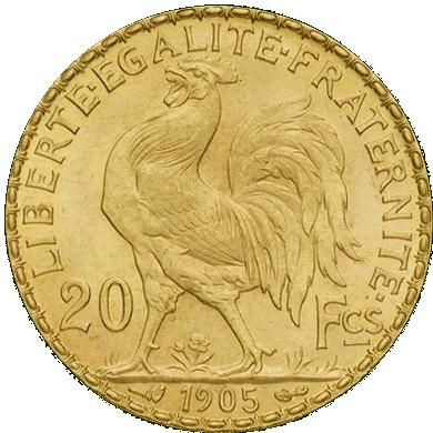 """old gold french francs (early 20th) were used and still are. the arrival of the french gave the signal to the heavy use of coins in moroccan jewelry:    """"Glada""""   """"LOUIZ"""" in reference to their french name """"Louis d'or"""" when the coin used in of the 20 francs denominations, otherwise they are called """"NSASS"""" OR """"HALVES"""" when 10 francs are used and  """"RBAA"""" or """"QUARTERS"""" when 5 francs are used"""