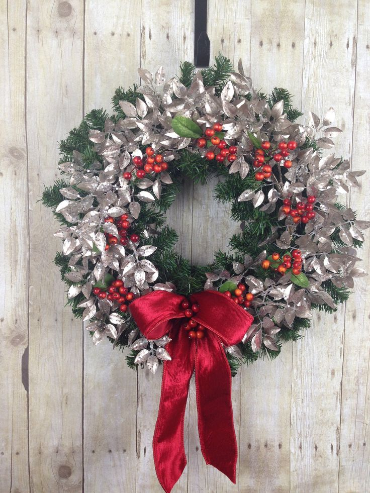 Christmas Wreath Front Door Wreath for Christmas