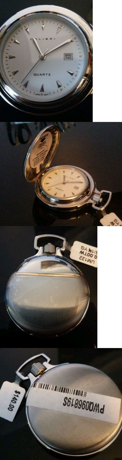 Other Pocket Watches 398: New Colibri Pocket Watch With 14K Yellow Gold Accent -> BUY IT NOW ONLY: $70 on eBay!