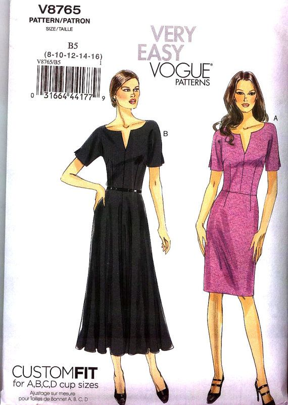 13 best patterns wanted vogue images on pinterest envelopes o o p new very easy vogue pattern v8765 misses sz 16 24 close fitting bodice dress how to lose weightreduce ccuart Images