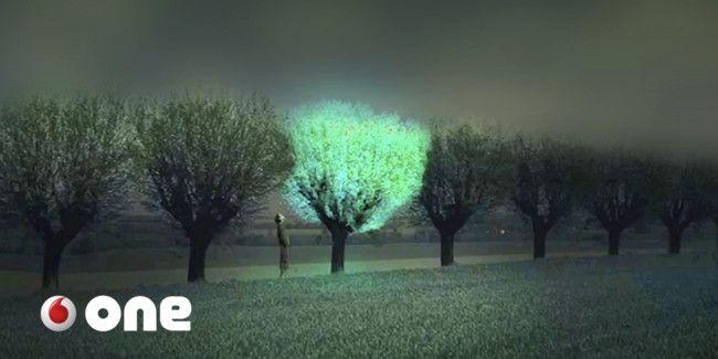 Árboles que brillan para sustituir a las farolas. Y si el mundo sostenible pasa por la biotecnología?