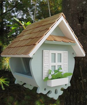 Another great find on #zulily! Light Blue Little Wren Feeder by Home Bazaar #zulilyfinds
