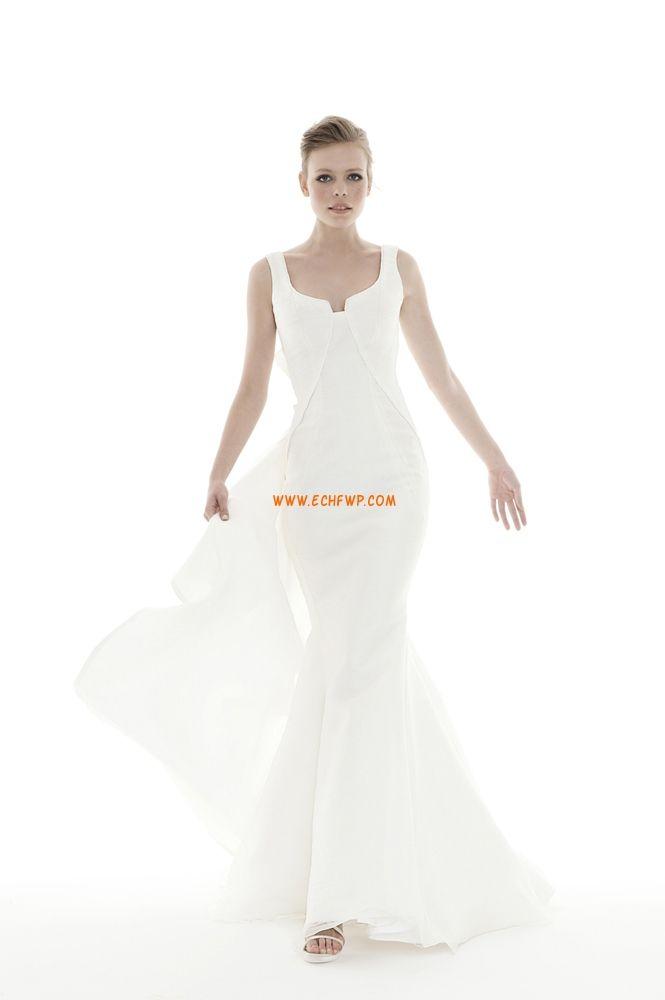 Court Släp Fall 2013 Elegant & Lyxig Billiga Bröllopsklänningar