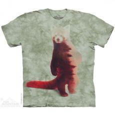 Vörös macskamedve és az erdő póló