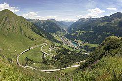 Gotthard Pass - Wikipedia, the free encyclopedia
