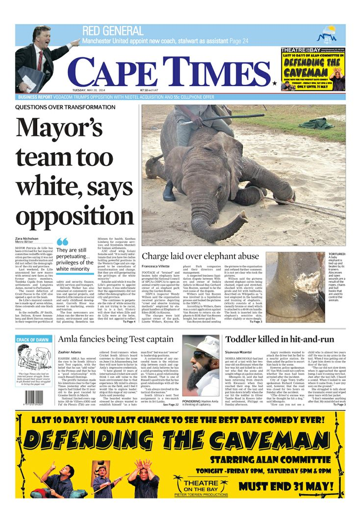 News making headlines: Mayor's team too white says opposition