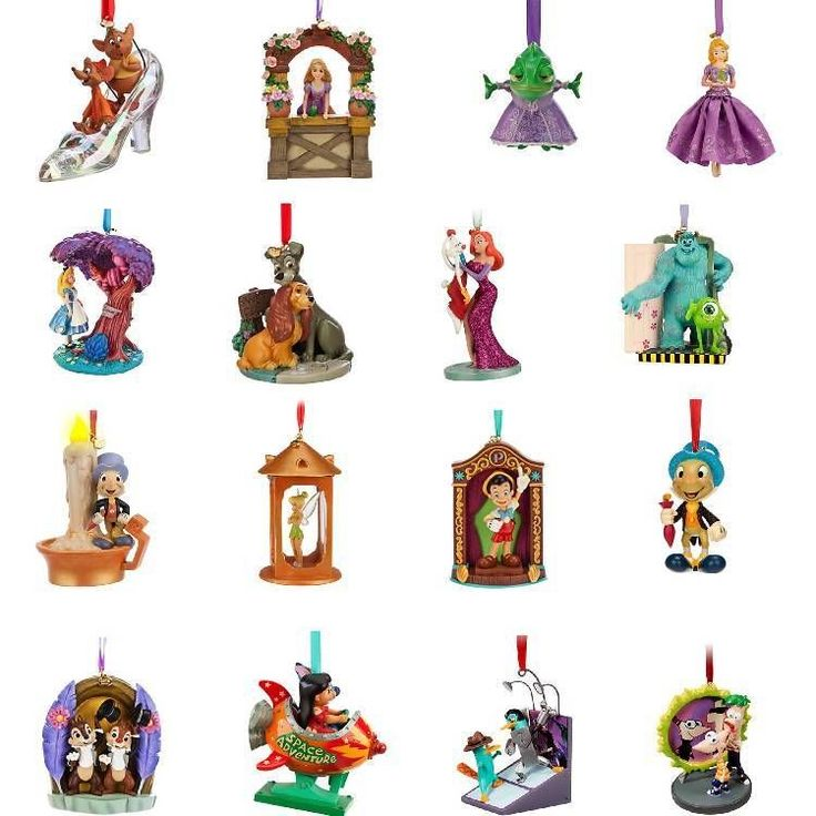 59 Best Images About Disney Ornaments On Pinterest