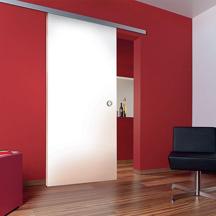 Diamond Doors Holzschiebetur Beschlag Linea Aluminium Art