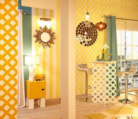 17 mejores ideas sobre papel pintado leroy en pinterest - Alisar paredes leroy merlin ...