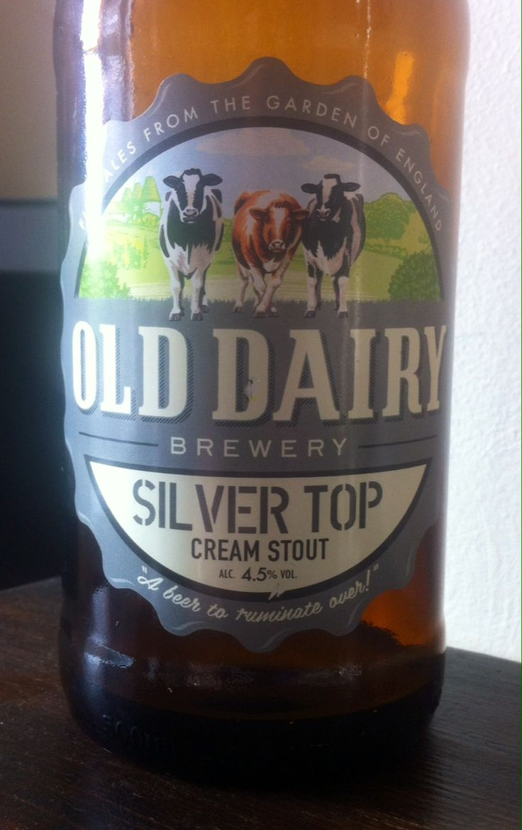 Silver Top Cream Stout. 4.5%. Old Dairy Brewery. Cranbrook, Kent. 6/10. Quite thin and watery for stout.