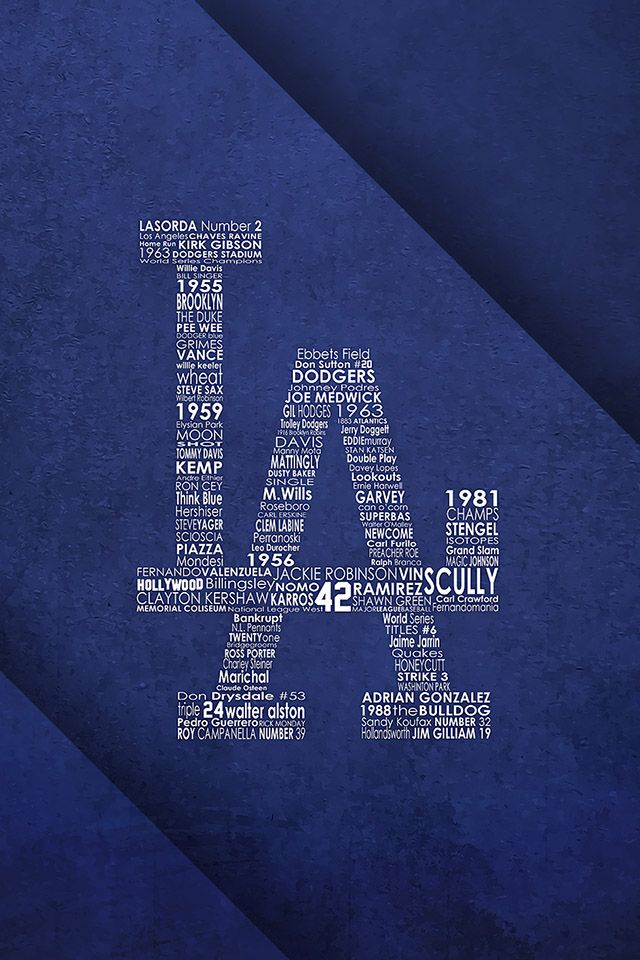 FreeiOS7 | la-dodgers-by-gododgerz | freeios7.com