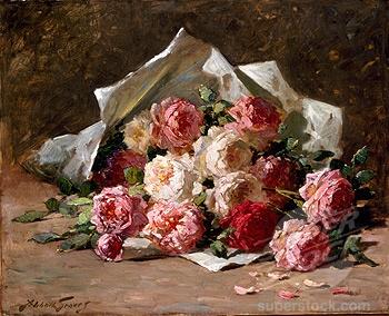Bouquet of Roses Abbott Fuller Graves (1859-1936 American)
